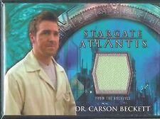 Stargate Atlantis 3&4 Costume Card Dr Carson Beckett 2