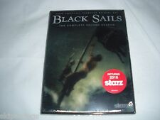 Black Sails: The Complete Second Season (DVD, 2015) Toby Stephens (Actor), Luke
