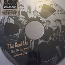 The Beatles 'Live On Air 1963 Vol 1' Ltd Numbered Lp On Clear Vinyl - New sealed