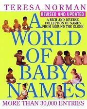 World of Baby Names, A (Revised) Norman, Teresa Paperback