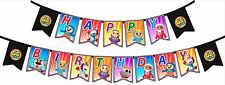 Go Jetters - HAPPY BIRTHDAY flag banner.