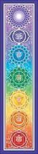 Mandala Arts Bumper Sticker: Rainbow Chakra