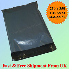"100 Strong Grey Mailing Postage bags 10""x14"" OFFER Free Postage Cheapest on Eaby"