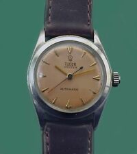Vintage 1942 Tudor by Rolex Super Rare Early Automatic Stainless Watch ロレックス