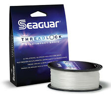 SEAGUAR THREADLOCK BRAID 80 LB TEST 600 YARDS select colors
