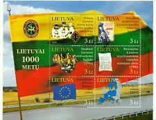 BANDIERE & STORIA - FLAGS & HISTORY LITHUANIA 2009 block