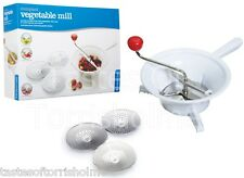 Kitchen Craft Bol Légume du Rotary sur presse Mill & 3 lames interchangeables