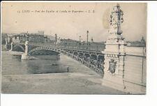 CPA LYON ( 69 )  PONT DES FACULTES et Coteau de Fourvière