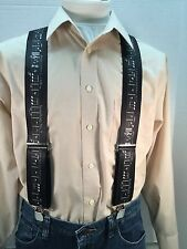 "New, Men's, The Musical Notes, XL, 2"", Adj. Suspenders / Braces, Made in USA"