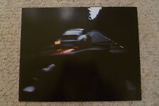 1976 Porsche 911 Turbo Coupe Showroom Advertising Poster RARE!! Awesome L@@K