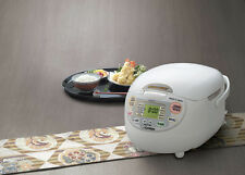 Zojirushi NS-ZCC10 5 Cup Neuro Fuzzy Rice Cooker and Warmer * FREE GIFT *