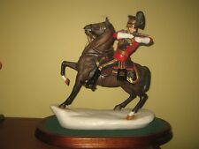 Michael Sutty porcelain figurine - 16th Queen's Lancers Officer