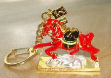 Feng Shui - 2017 Red Victory Horse Keychain (Dispel Obstacles & for Success)