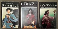 VERY RARE! LOT OF ALL 3 UNCORRECTED PROOFS! Old Kingdom SIGNED by GARTH NIX