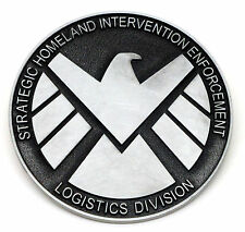 Belt Buckle Agents of SHIELD Version 2 * Movie Comic Book Marvel Superhero *