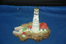 Lighthouse Danbury Mint Boston Light Series Of 8 Lighthouses Issued by Db