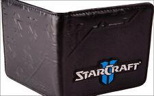 Official Licensed StarCraft II 2 Leather Bi-fold Bifold Men's Boy's Wallet NEW