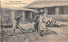 B86348 anleitung zum bau eines kahnes types folklore deutsch ostafrika tanzania