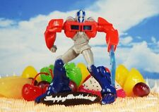 Cake Topper Transformers Robot OPTIMUS PRIME Figure Model Statue K1113_A