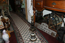 Vintage Victorian Gothic Medieval Table Lamp-#2-Marble Base-Intricate Designs