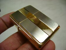 ZIPPO ACCENDINO LIGHTER SERIE GOLD/SILVER TITAN ONE 381  BRASS  NUOVO