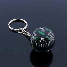 28mm Outdoor Survival Keychain Ball Camping Hiking Compass