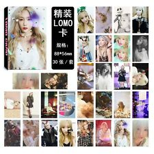 30pcs set Kpop Girls' Generation Taeyeon Personal Lomo Card Photo Picture Poster