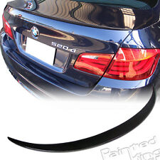 Carbon Fiber BMW F10 5-Series M5 Type Rear Trunk Spoiler Wing 2010-up