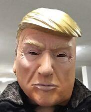 Donald Trump Máscara De Látex multimillonario American político El presidente de Estados Unidos vestido de fantasía