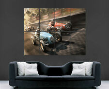 Nascar poster rétro racing F1 old-school history voitures wall art photo imprimé
