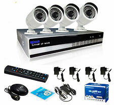 LightInTheBox SINOCAM 4CH 4 Channel NVR, 720P P2P IP Camera Security System Kit