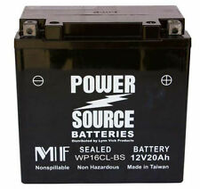 Sea-Doo Battery Yamaha Wave-Runner Super-Jet-Ski Power Source WP16CL-BS Nstock