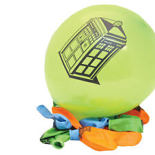 DOCTOR WHO TARDIS BALLOONS 10 PACK   -   PARTY OFFICIAL