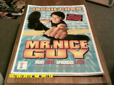 Mr Nice Guy (jackie chan) A2+ Movie Poster