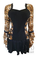 NWT WOMENS PLUS SIZE CLOTHING BOLERO  CORSET TOP IN WILD CAT 1X