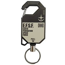 Mobile  Suits Gundam E.F.S.F Reel Key Chain Ring Accessory