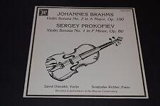 Johannes Brahms~Violin Sonata No. 2~Sergey Prokofiev~Violin Sonoto No. 1