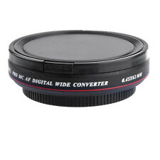 62mm ZOMEI 0.45x Ultra Slim Wide Angle Filter Lens for Nikon Canon DSLR Camera