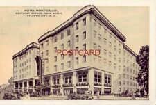 1938 HOTEL MONTICELLO Kentucky Avenue ATLANTIC CITY N. J. J R Hollinger, Gen Mgr