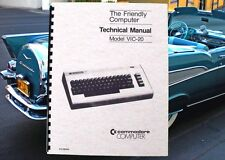 COMMODORE VIC-20 VIC 20 Computer TECHNICAL Service Manual With Schematics