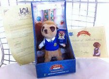 BNIB Bogdan Plush Toy Compare The Meerkat Soft Official Tag TV Advert Boxed Shop