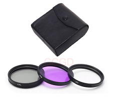 58mm CPL UV FLD Camera Filter Lens Kit for Nikon D3100 D5100 D7000 Canon All SLR
