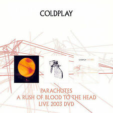 COLDPLAY Parachutes Rush of Blood Live 2003 [2CD & DVD 3 pac] BRAND NEW & SEALED