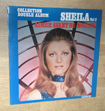Double LP SHEILA collection double album vol. 2 Aimer avant de mourir 1976 EXC