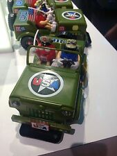 M&M's World Military Jeep Candy Dispenser New with Tags
