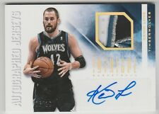 2012/13 PANINI INTRIGUE KEVIN LOVE AUTO AUTOGRAPH 4 COLOR PATCH 6/10 CARD #17