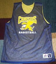 RARE Authentic CANISIUS GOLDEN GRIFFS Basketball REVERSIBLE Practice JERSEY L