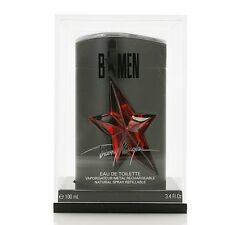 NEW Angel B Men by Thierry Mugler 3.4 oz Eau de Toilette Metal Spray Refillable