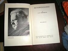 G.K. CHESTERTON AUTOBIOGRAPHY HARD BACK 1950 347 PAGES