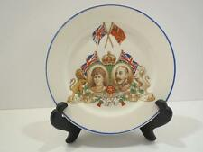 VTG Their Majesties Silver Jubilee George V Queen Mary Plate Royal England 1935